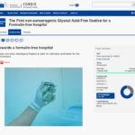 articolo cordis formalin free hospital